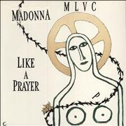 Click here for more info about 'Like A Prayer - Stickered Sleeve'
