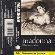 Click here for more info about 'Madonna - Like A Virgin - 2nd - Grey Label & Black Shell'