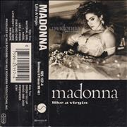 Click here for more info about 'Madonna - Like A Virgin - Grey Paper Labels'