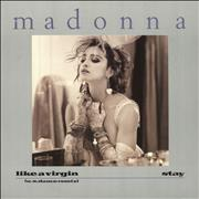 Click here for more info about 'Madonna - Like A Virgin - Silver catalogue number'