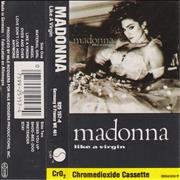 Click here for more info about 'Madonna - Like A Virgin - White Labels & Grey Shell'