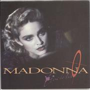 Click here for more info about 'Madonna - Live To Tell - Solid + Glossy Sleeve'