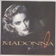 Click here for more info about 'Madonna - Live To Tell - Yellow Label & Matte Sleeve'