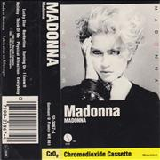 Click here for more info about 'Madonna - Madonna - Silver paper labels & Barcode'