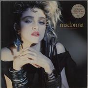 Click here for more info about 'Madonna - The First Album - Stickered Sleeve - EX'