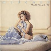 Click here for more info about 'Madonna - Material Girl - Blue Inj - Paper Sleeve'