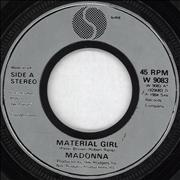 Click here for more info about 'Madonna - Material Girl - Injection Moulded'