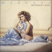 Click here for more info about 'Madonna - Material Girl - Silver Injection + Paper Sleeve'