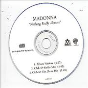 Click here for more info about 'Madonna - Nothing Really Matters - 3-trk Inc Club 69 Show Mix'