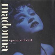 Click here for more info about 'Madonna - Open Your Heart - Injection Label & Matt Sleeve'