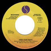 Click here for more info about 'Madonna - Open Your Heart'