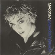 Click here for more info about 'Madonna - Papa Don't Preach  - Inj - Glossy sleeve'