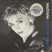 Click here for more info about 'Madonna - Papa Don't Preach + Poster/Stickered Sleeve'