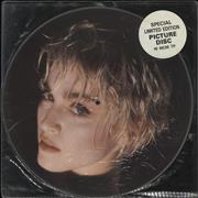 Click here for more info about 'Madonna - Papa Don't Preach + Stickered sleeve'