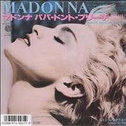 Click here for more info about 'Madonna - Papa Don't Preach + insert'