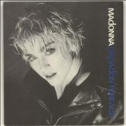 Click here for more info about 'Madonna - Papa Don't Preach - Solid - Glossy Sleeve'