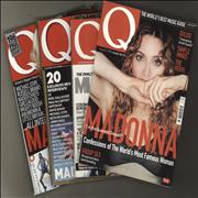 Click here for more info about 'Madonna - Q Magazine - Four issues'