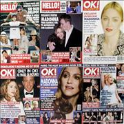 Click here for more info about 'Madonna - Quantity of Hello & OK Magazines'