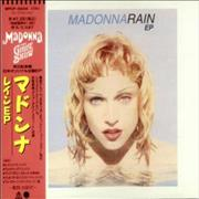 Madonna Rain + Girlie Show Obi-Strip Japan CD single