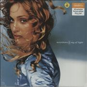 Click here for more info about 'Madonna - Ray Of Light - Blue Vinyl - Sainsbury's'