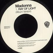 Click here for more info about 'Madonna - Ray Of Light - Jukebox Single'