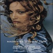 Click here for more info about 'Madonna - Ray Of Light - Pair Of Flyers'