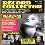 Click here for more info about 'Madonna - Record Collector - September 1994'
