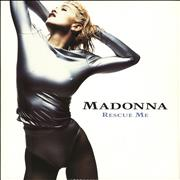 Click here for more info about 'Madonna - Rescue Me + Poster'