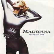 "Madonna Rescue Me - Paper Sleeve UK 7"" vinyl"