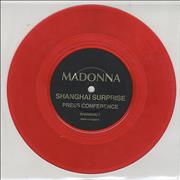 Click here for more info about 'Madonna - Shanghai Surprise - Red Vinyl'
