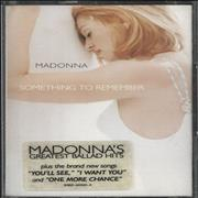 Click here for more info about 'Madonna - Something To Remember'