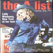 Click here for more info about 'Madonna - The A List Magazine - November 2000'