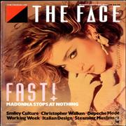 Madonna The Face UK magazine