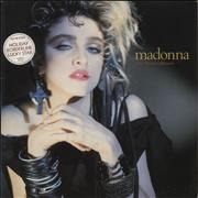 Click here for more info about 'Madonna - The First Album - Stickered Sleeve'