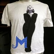 Click here for more info about 'Madonna - The Girlie Show - Medium White Cotton'