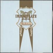 Click here for more info about 'Madonna - The Immaculate Collection + Lyric insert'