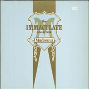 Madonna The Immaculate Collection - EX UK 2-LP vinyl set