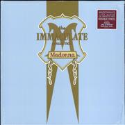 Madonna The Immaculate Collection UK 2-LP vinyl set
