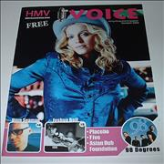 Click here for more info about 'The Voice - HMV Magazine'
