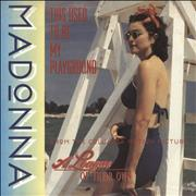 Click here for more info about 'Madonna - This Used To Be My Playground - Paper P/S'