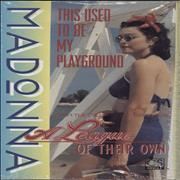 Click here for more info about 'Madonna - This Used To Be My Playground - Sealed'