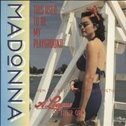 Click here for more info about 'Madonna - This Used To Be My Playground - EX'