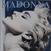 Click here for more info about 'Madonna - True Blue + Poster / EX'