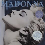 Click here for more info about 'Madonna - True Blue + Poster - Stickered sleeve'