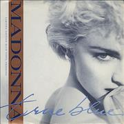 Click here for more info about 'Madonna - True Blue - Blue Vinyl - P/S'