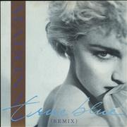 Click here for more info about 'Madonna - True Blue - Blue Injection Moulded & Card Sleeve'