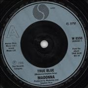 Click here for more info about 'Madonna - True Blue - Blue Injection'