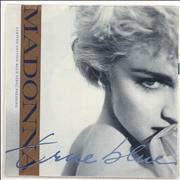Click here for more info about 'Madonna - True Blue - Blue Vinyl + p/s'