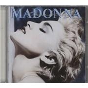 Madonna True Blue - Original Japan CD album