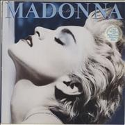 Click here for more info about 'Madonna - True Blue - Stickered sleeve - EX'